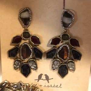 Chloe and Isabel rebel statement earrings